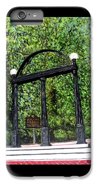 The Arch At Uga IPhone 6s Plus Case by Katie Phillips