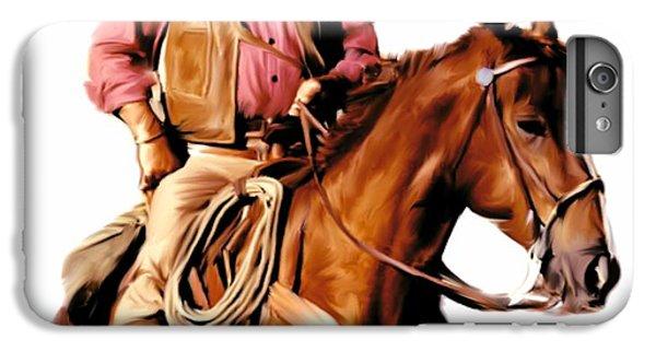 The Duke  John Wayne IPhone 6s Plus Case by Iconic Images Art Gallery David Pucciarelli