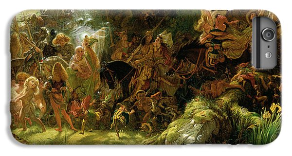 The Fairy Raid IPhone 6s Plus Case by Sir Joseph Noel Paton