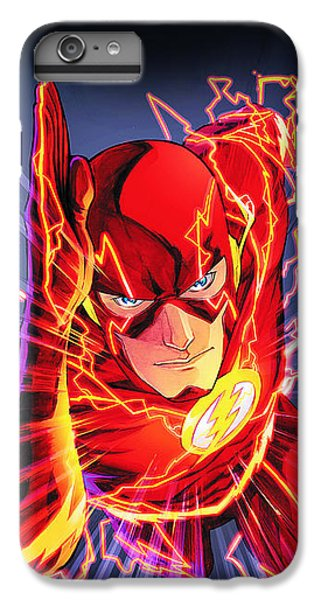 The Flash IPhone 6s Plus Case by FHT Designs