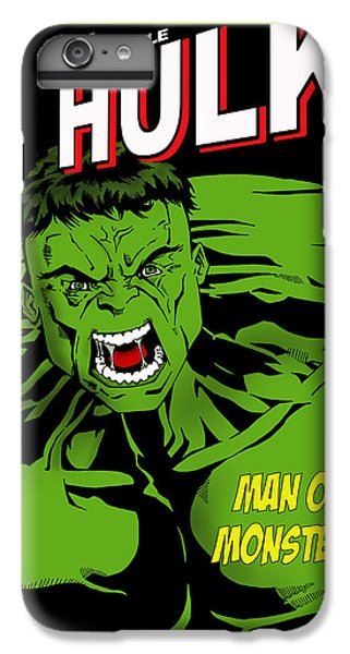 The Incredible Hulk IPhone 6s Plus Case by Mark Rogan