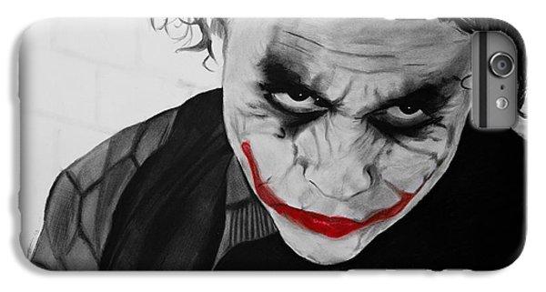 The Joker IPhone 6s Plus Case by Robert Bateman