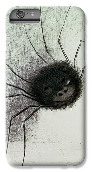 The Laughing Spider IPhone 6s Plus Case by Odilon Redon