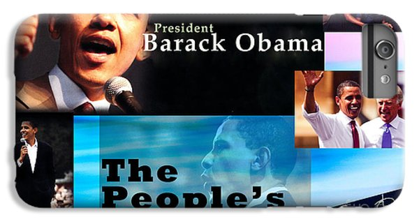 The People's President Still IPhone 6s Plus Case by Terry Wallace
