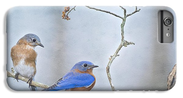 The Presence Of Bluebirds IPhone 6s Plus Case by Bonnie Barry