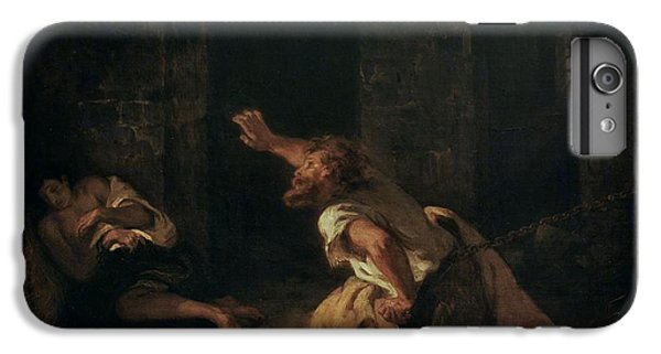 The Prisoner Of Chillon IPhone 6s Plus Case by Ferdinand Victor Eugene Delacroix