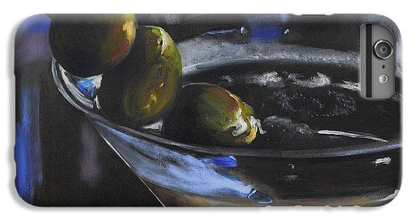 Three Olive Martini IPhone 6s Plus Case by Donna Tuten