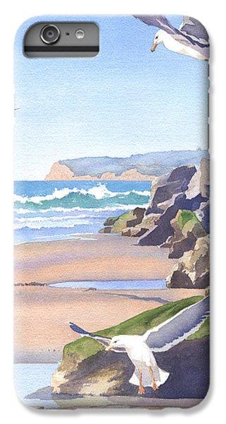 Three Seagulls At Coronado Beach IPhone 6s Plus Case by Mary Helmreich
