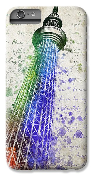 Tokyo Skytree IPhone 6s Plus Case by Aged Pixel