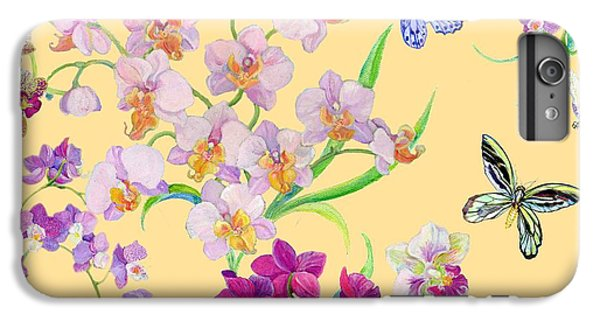 Tossed Orchids IPhone 6s Plus Case by Kimberly McSparran