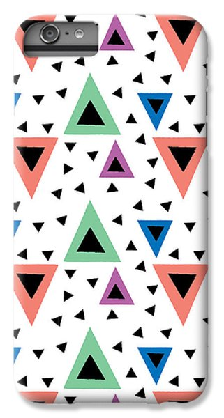 Triangular Dance Repeat Print IPhone 6s Plus Case by Susan Claire