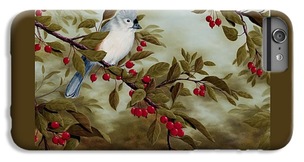 Tufted Titmouse IPhone 6s Plus Case by Rick Bainbridge