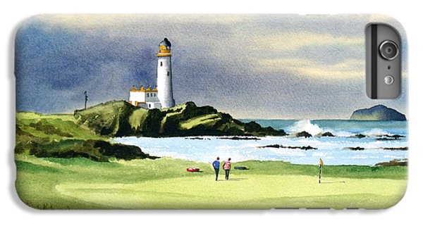 Turnberry Golf Course Scotland 10th Green IPhone 6s Plus Case by Bill Holkham