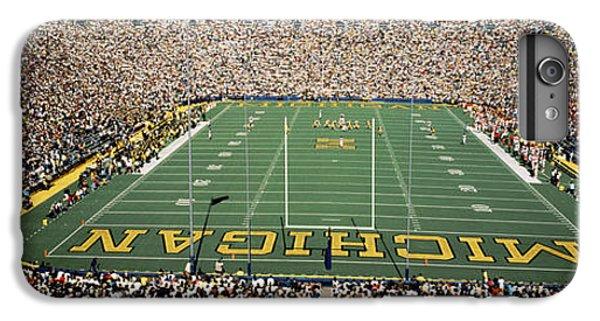 University Of Michigan Stadium, Ann IPhone 6s Plus Case by Panoramic Images