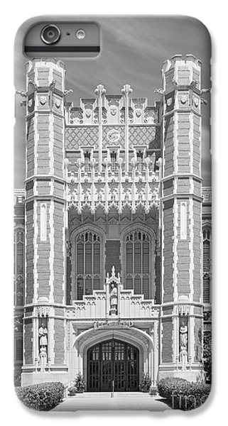 University Of Oklahoma Bizzell Memorial Library  IPhone 6s Plus Case by University Icons