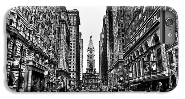Urban Canyon - Philadelphia City Hall IPhone 6s Plus Case by Bill Cannon