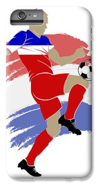 Usa Soccer Player IPhone 6s Plus Case by Joe Hamilton