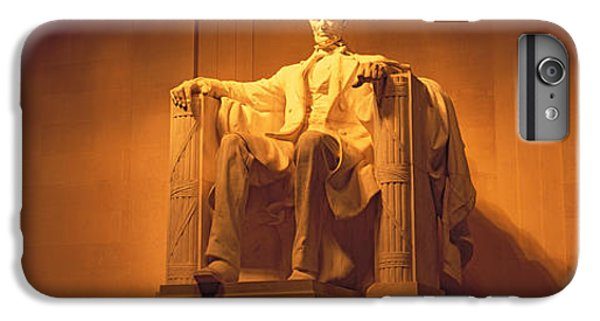 Usa, Washington Dc, Lincoln Memorial IPhone 6s Plus Case by Panoramic Images