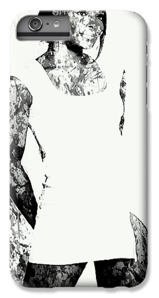 Venus Williams Paint Splatter 2c IPhone 6s Plus Case by Brian Reaves