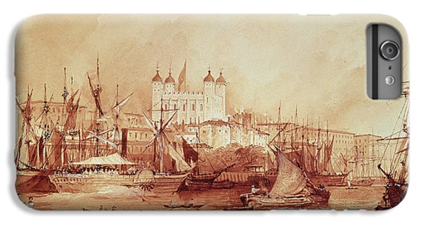 View Of The Tower Of London IPhone 6s Plus Case by William Parrott