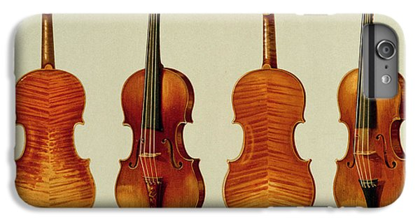 Violins IPhone 6s Plus Case by Alfred James Hipkins