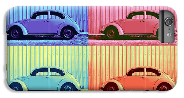 Vw Beetle Pop Art Quad IPhone 6s Plus Case by Laura Fasulo
