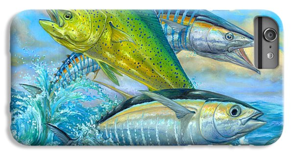 Wahoo Mahi Mahi And Tuna IPhone 6s Plus Case by Terry  Fox