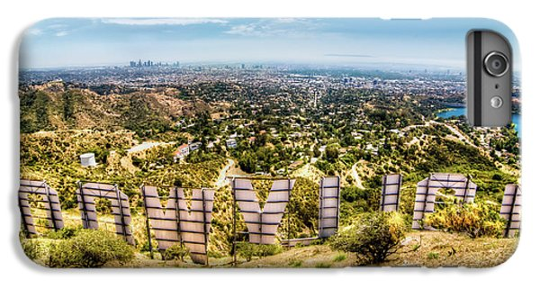 Welcome To Hollywood IPhone 6s Plus Case by Natasha Bishop