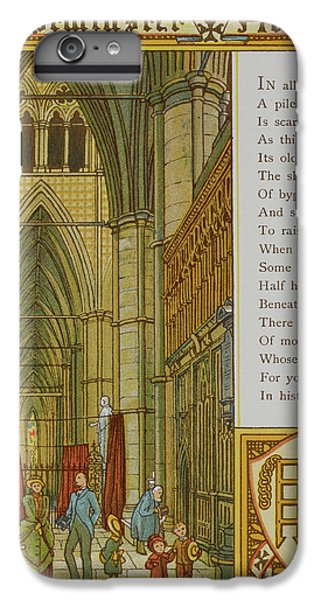 Westminster Abbey IPhone 6s Plus Case by British Library