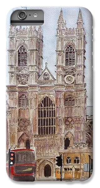 Westminster Abbey IPhone 6s Plus Case by Henrieta Maneva