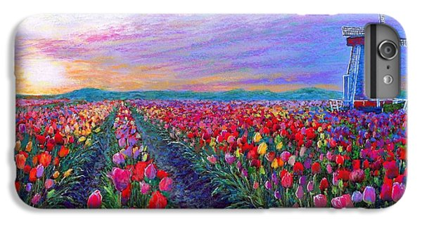 Tulip Fields, What Dreams May Come IPhone 6s Plus Case by Jane Small