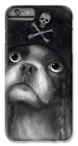 Whimsical Funny French Bulldog Pirate  IPhone 6s Plus Case by Svetlana Novikova