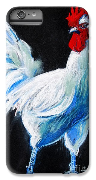 White Chicken IPhone 6s Plus Case by Mona Edulesco