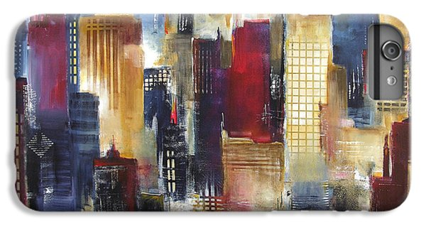 Windy City Nights IPhone 6s Plus Case by Kathleen Patrick