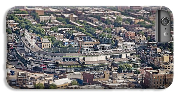 Wrigley Field - Home Of The Chicago Cubs IPhone 6s Plus Case by Adam Romanowicz
