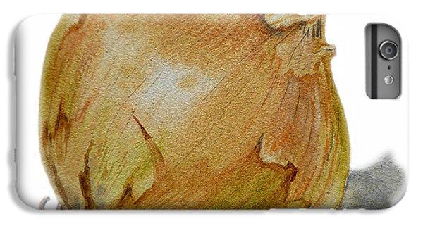Yellow Onion IPhone 6s Plus Case by Irina Sztukowski
