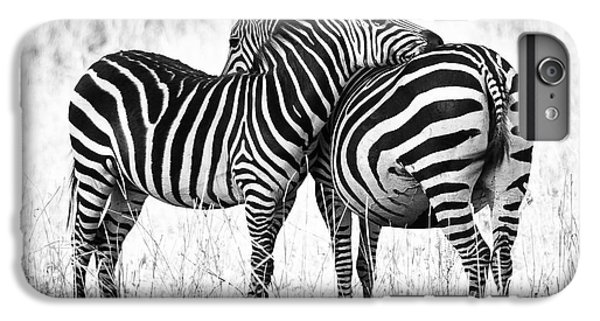 Zebra Love IPhone 6s Plus Case by Adam Romanowicz