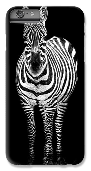 Zebra IPhone 6s Plus Case by Paul Neville
