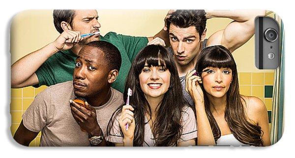 Zooey Deschanel New Girl Tv Show  IPhone 6s Plus Case by Marvin Blaine
