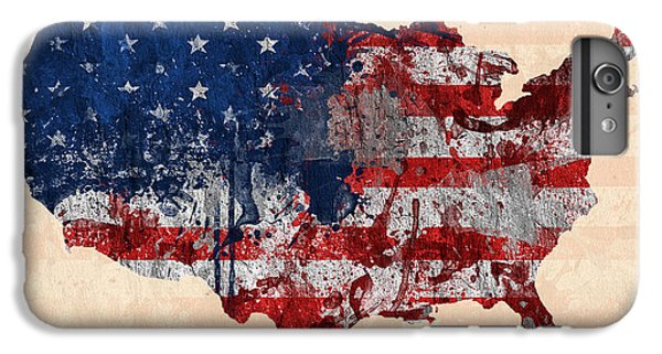 America IPhone 6s Plus Case by Mark Ashkenazi