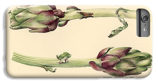 Artichokes IPhone 6s Plus Case by Alison Cooper