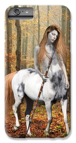 Centaur Series Autumn Walk IPhone 6s Plus Case by Nikki Marie Smith