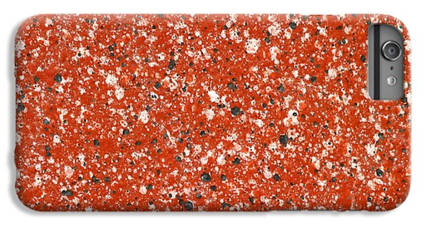 Fake Granite IPhone 6s Plus Case by Henrik Lehnerer