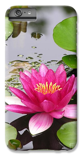 Pink Lily Flower  IPhone 6s Plus Case by Diane Greco-Lesser