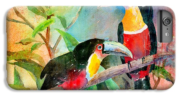 Red-breasted Toucans IPhone 6s Plus Case by Arline Wagner