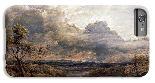 Sun Behind Clouds IPhone 6s Plus Case by John Linnell