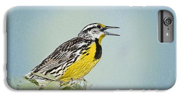 Western Meadowlark IPhone 6s Plus Case by Betty LaRue