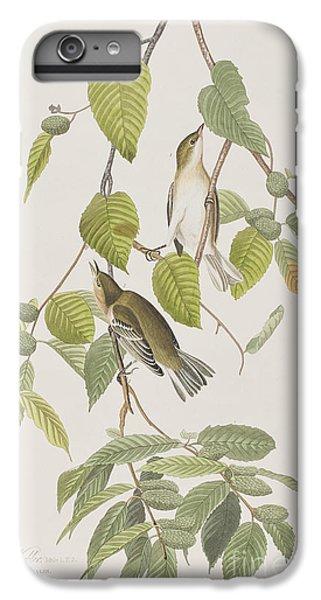 Autumnal Warbler IPhone 6s Plus Case by John James Audubon