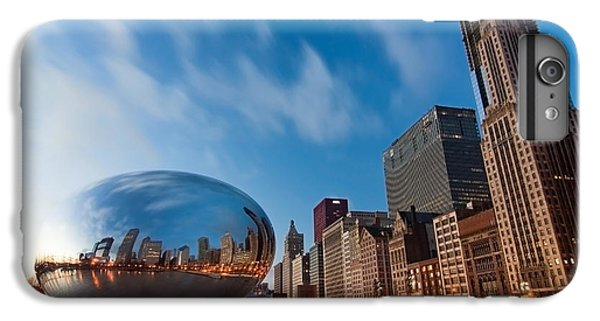 Chicago Skyline And Bean At Sunrise IPhone 6s Plus Case by Sven Brogren