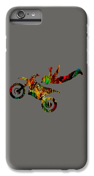Dirt Bike Superman Collection IPhone 6s Plus Case by Marvin Blaine